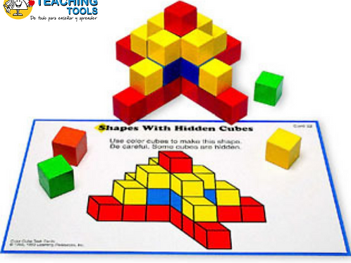 CREATIVE COLOR CUBES WITH PATTERN CARDS