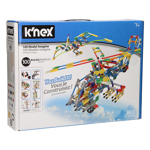 POWER AND PLAY 50 MODEL MOTORIZED BUILDING SET