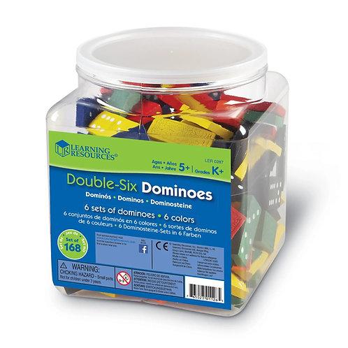 DOUBLE-SIX DOMINOES, SET OF 168