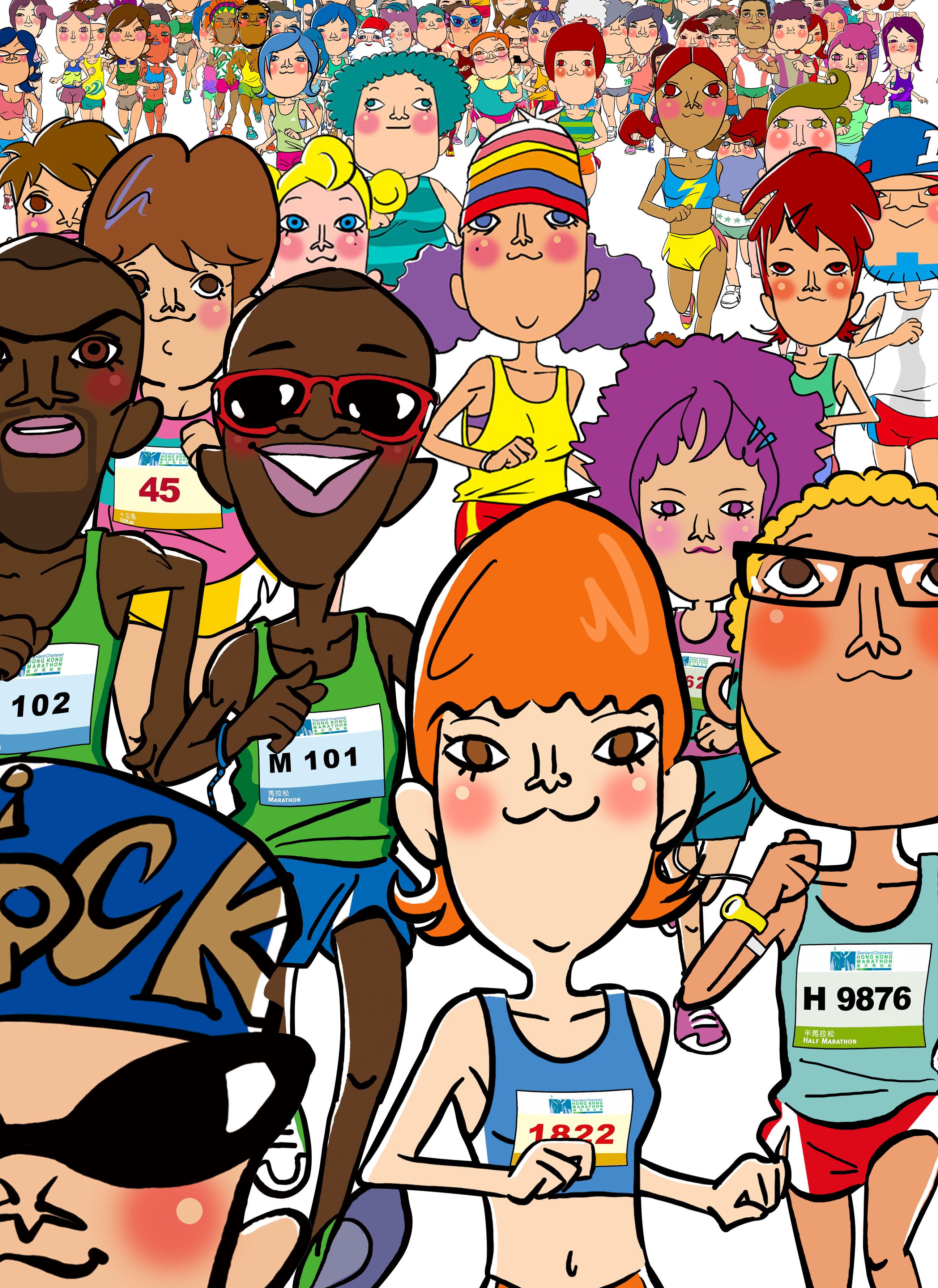 Marathon 101 poster