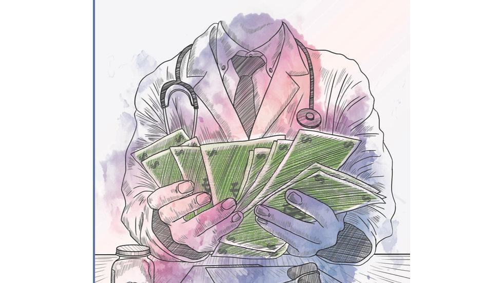 Medicina, ¿es negocio? de Ana García