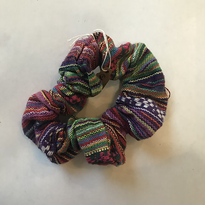 Traditional Central American Pattern Scrunchy