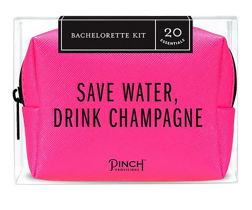 Save Water, Drink Champagne Bachelorette Kit