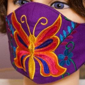 Butterfly Handmade Mask