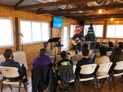 Teens at Winter Recharge