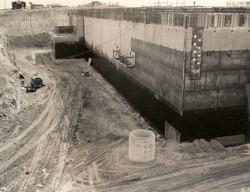 AT&T telecom bunker construction