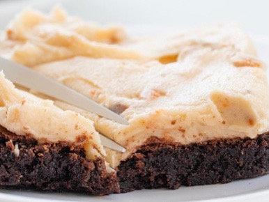 Wednesday, April 28th: English Toffee Heath Bar Brownie Pan
