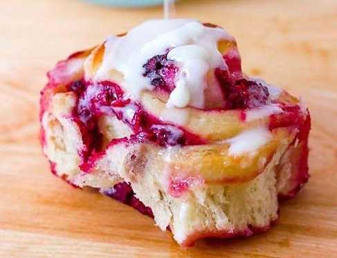 Saturday, April 24th: Raspberry Buns