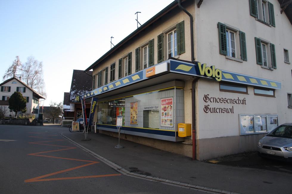 Der einzige Lebensmittelladen im Dorf ist der Volg