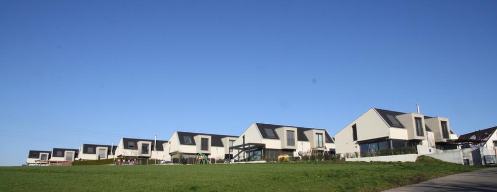 Rege Bautätigkeit - Bild von der Siedlung Giardino.