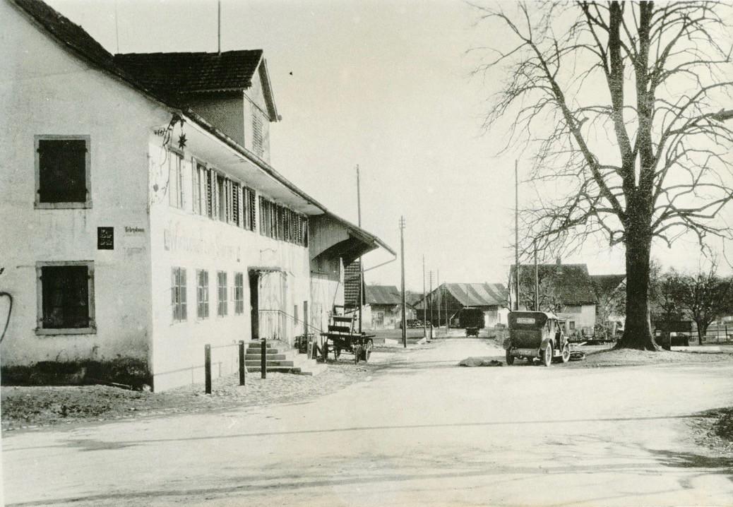 Unfall Restaurant Sternen, 1930