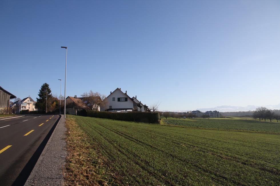 Ortseingang von Richtung Volketwil.