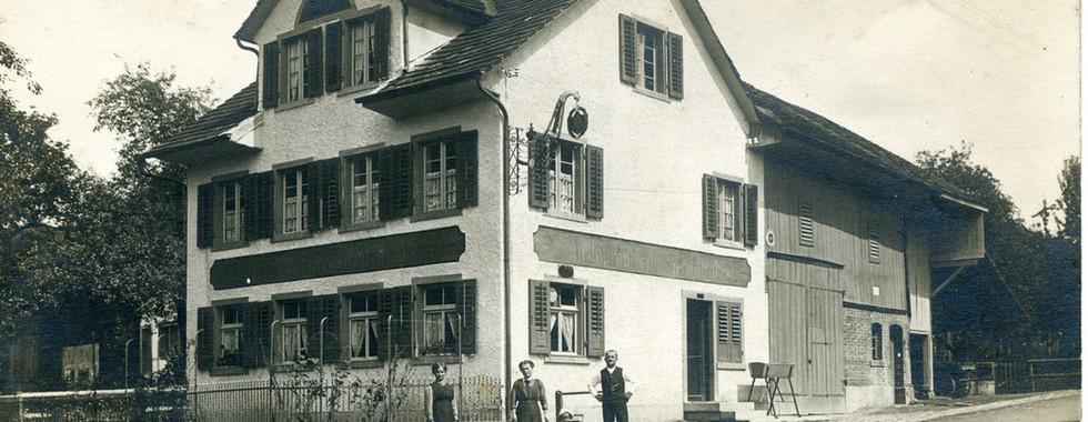 Restaurant Kreuzstrasse, 1930