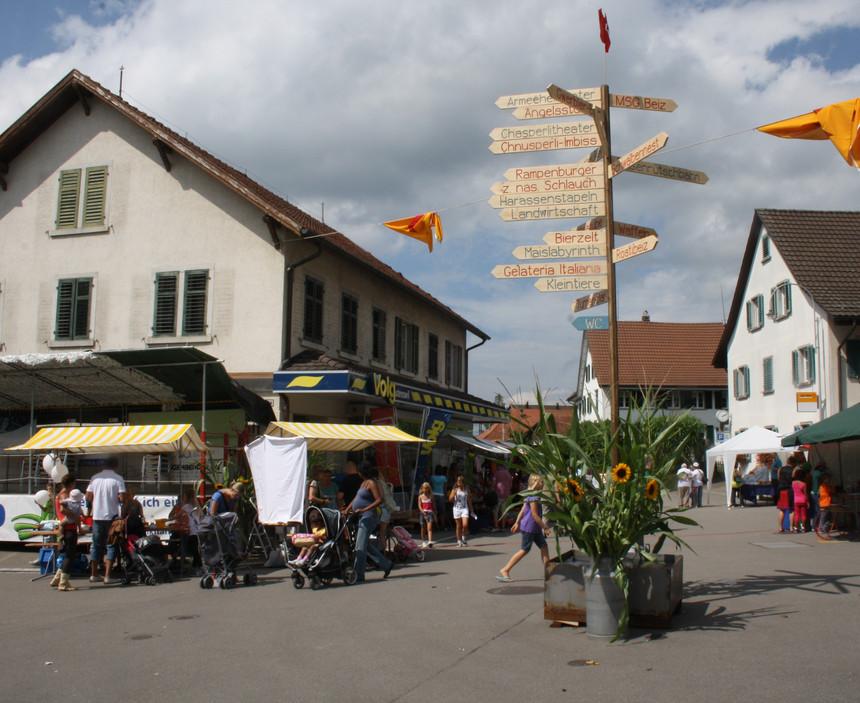 Vom 24. bis 26. August 2012 feierte Gutenswil sein 850-Jahr-Jubiläum mit einem grossen Dorffest