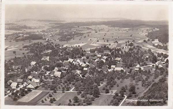 Flugaufnahme,1945