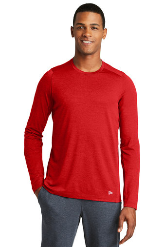 New Era® Series Performance Long Sleeve Crew Tee