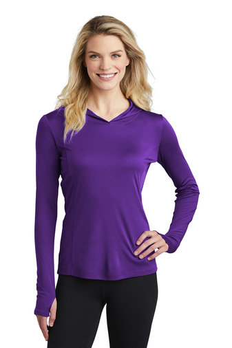 Sport-Tek ® Ladies PosiCharge ® Competitor ™ Hooded Pullover