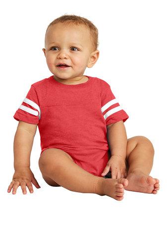 Rabbit Skins™ Infant Football Fine Jersey Bodysuit