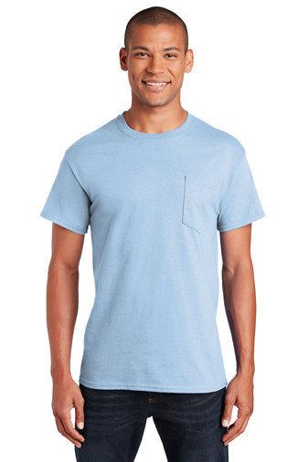 Gildan® - Ultra Cotton® 100% Cotton T-Shirt with Pocket