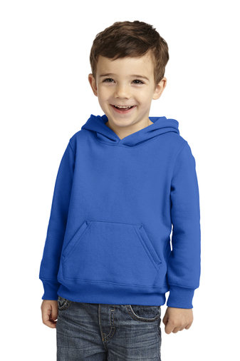 Port & Company® Toddler Core Fleece Pullover Hooded Sweatshirt
