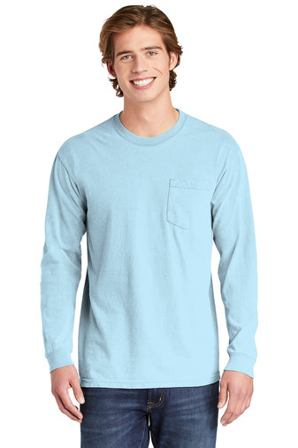 Comfort Colors ® Heavyweight Ring Spun Long Sleeve Pocket Tee