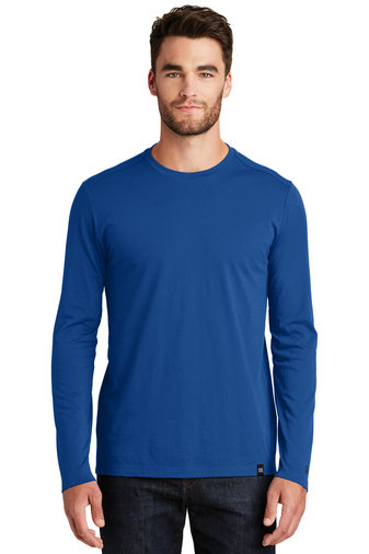 New Era® Heritage Blend Long Sleeve Crew Tee