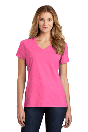 Port & Company ® Ladies Fan Favorite ™ Blend V-Neck Tee