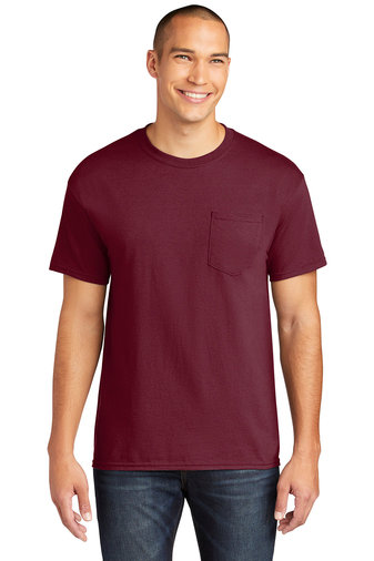 Gildan ® Heavy Cotton ™ 100% Cotton Pocket T-Shir