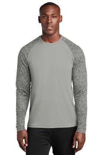 Sport-Tek ® Long Sleeve Digi Camo Tee