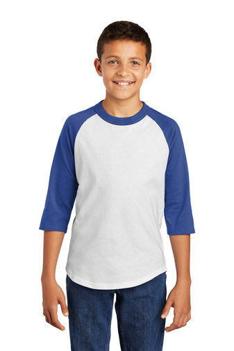 Sport-Tek® Youth Colorblock Raglan Jersey