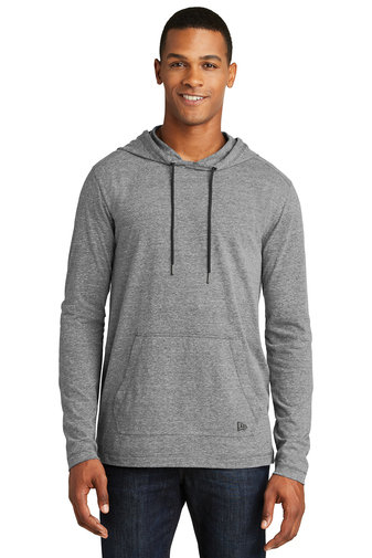 New Era® Tri-Blend Performance Pullover Hoodie Tee