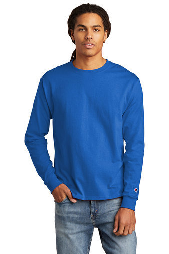 Champion ® Heritage 5.2-Oz. Jersey Long Sleeve Tee