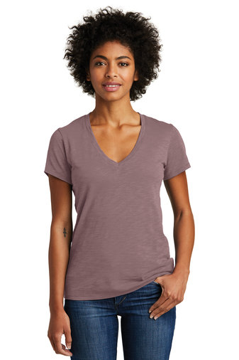 Alternative Women's Weathered Slub So-Low V-Neck Tee