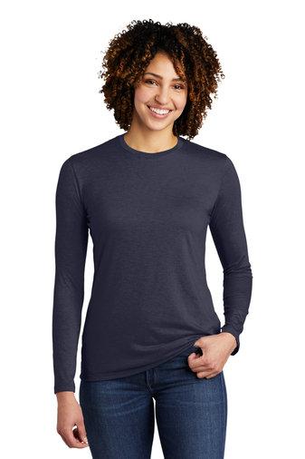 Allmade® Women's Tri-Blend Long Sleeve Tee