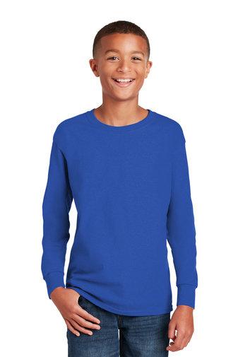 Gildan® Youth Heavy Cotton™ 100% Cotton Long Sleeve T-Shirt