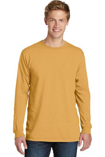Port & Company® Beach Wash™ Garment-Dyed Long Sleeve Tee