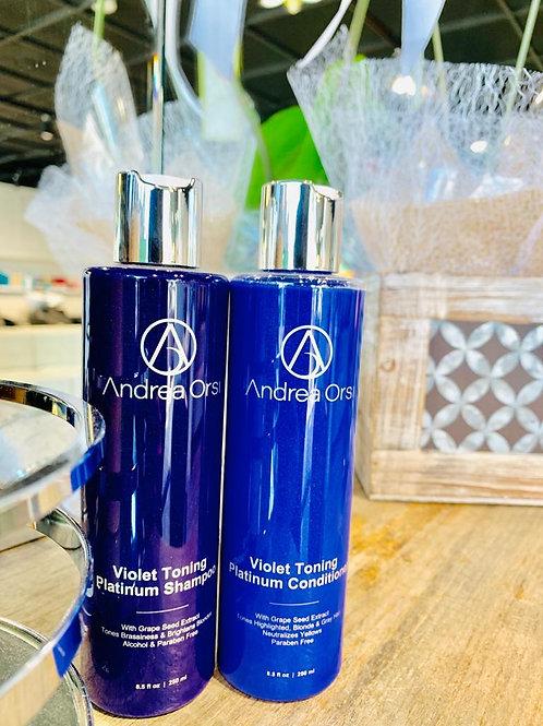 Violet Toning Platinum Shampoo