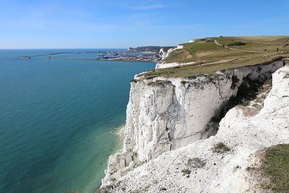 Private Guided Tour of the White Cliffs of Dover from Greenwich Cruise Terminal