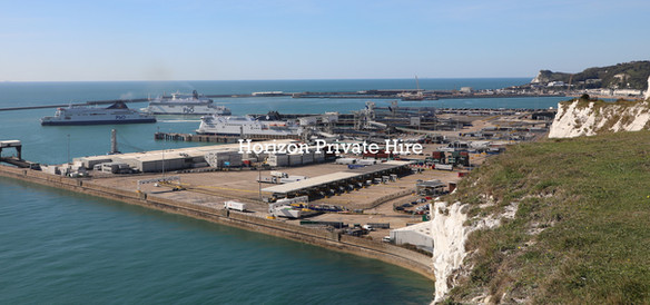 Port of Dover from the White Cliffs
