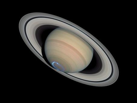 Origine des anneaux de Saturne...