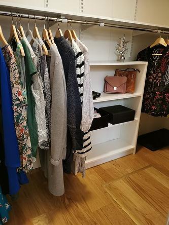 Profesjonell organisering walkinn garderobe