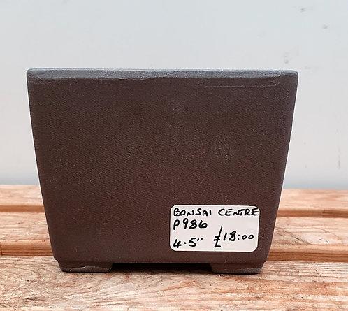 """P986 Unglazed Semi-Cascade Pot 4.5"""""""