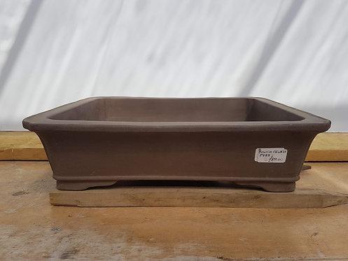 "P788 Unglazed rectangular Pot 16.5"""
