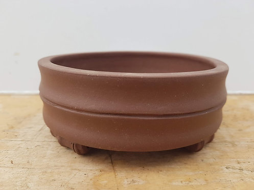"P944 Unglazed Round Pot 5"""