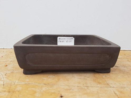 """P425 Unglazed Shohin Pot 5"""""""