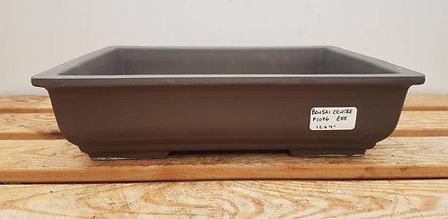 P1076 Unglazed rectangular Pot 12""