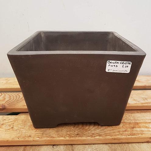 """P1093 Unglazed Semi-Cascade Pot 8"""""""