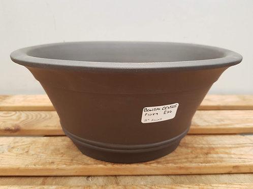 "P1089 Unglazed Round Pot 11"""