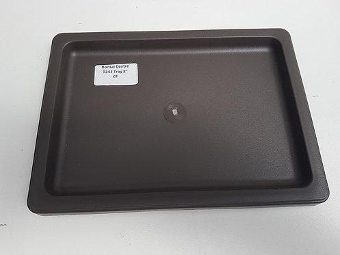 "T243 Plastic Tray 8"""