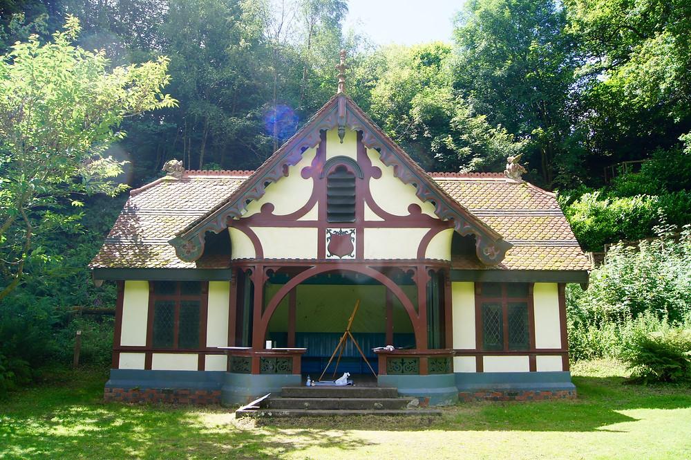 Pavilion in Craig-y-Nos